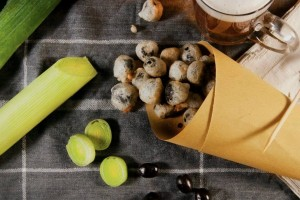 Olive in tempura